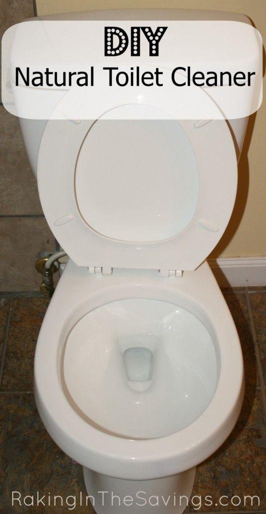 DIY Natural Toilet Cleaner... I have some stubborn stains that need some work...   -Kombiner 1 C bagepulver med 1 spsk salt og 10 dråber æterisk olie (valgfrit) og drys rundhåndet i toilettet bliver sikker på at få på siderne. Lad det sidde i ca 5 minutter. Hæld 1 C eddike i toilettet bliver sikker på at få siderne, krat med toilet børste. Skyl og nyde dit rene toilettet!