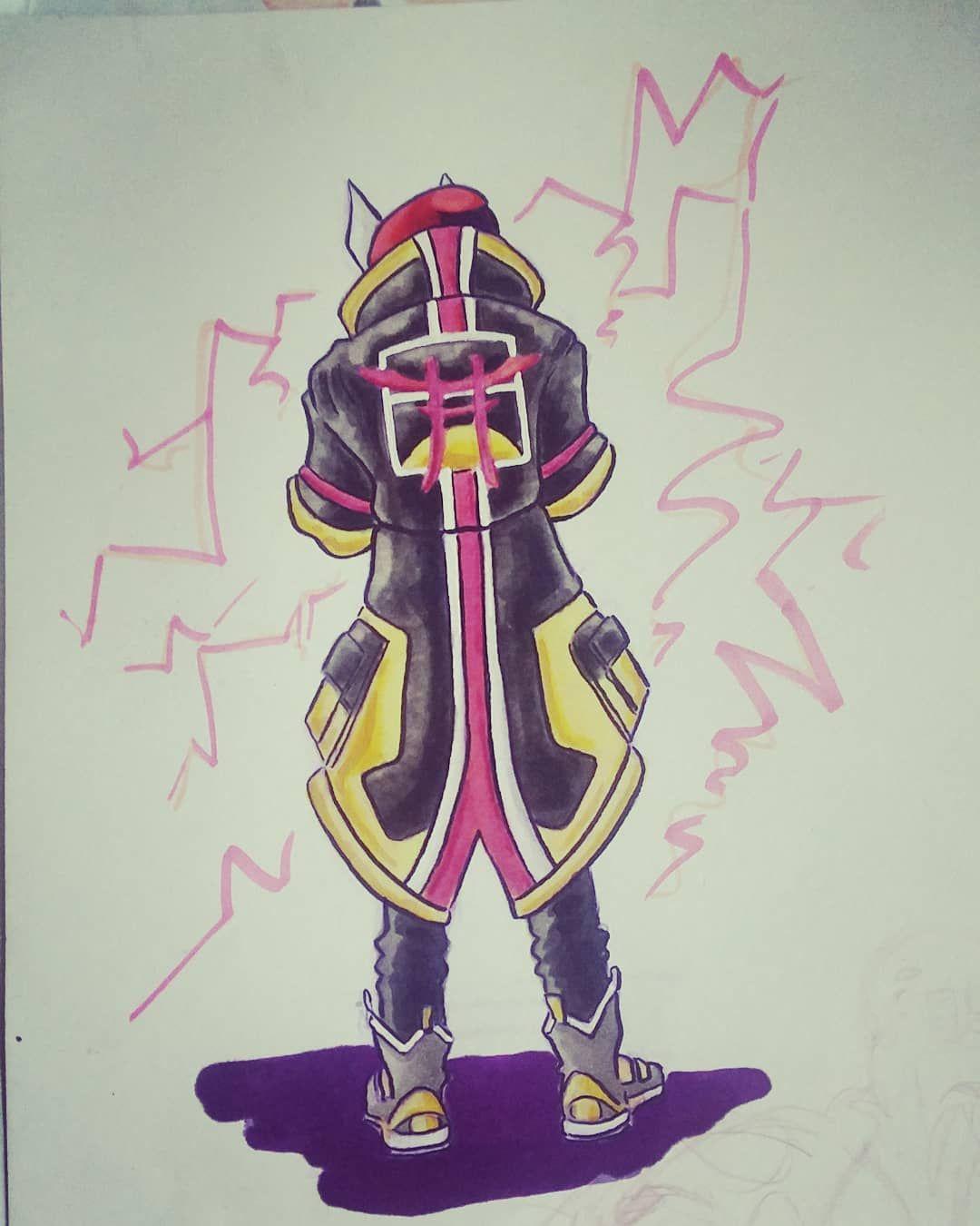 Fortnite Drawings: Little Fortnite Doodle . . #fortnite #drift #sketch