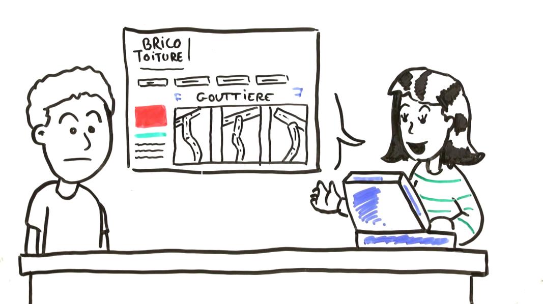 Brico Toiture Pour Trouver Et Installer Sans Mauvaise Surprise La Bonne Gouttiere Sur Votre Toit Ou Tout Autre Produit De Couvert Toiture Video Tableau Blanc