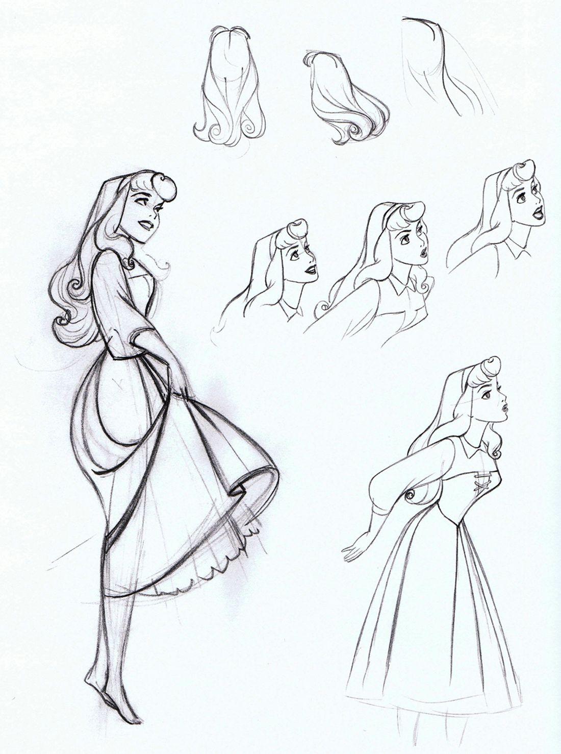 Sleeping beauty 1959 dress style