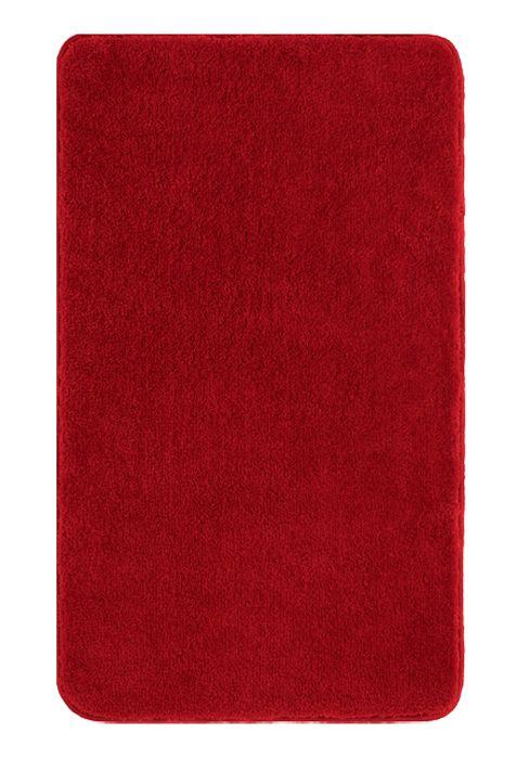 Der Schone Und Weiche Badteppich Comfort In Rot Ist Aus Polyacryl