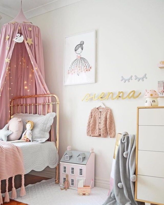 Penelope\'s room | Childrens room | Pink bedroom for girls, Little ...