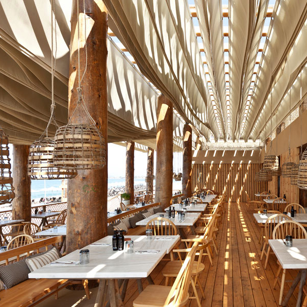 Restaurant Roof Design