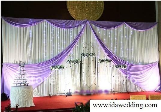 wedding props wedding stage backdrop curtain diy your wedding size