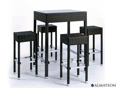 Salon De Jardin Design Et Pratique, En Aluminium Et En Résine