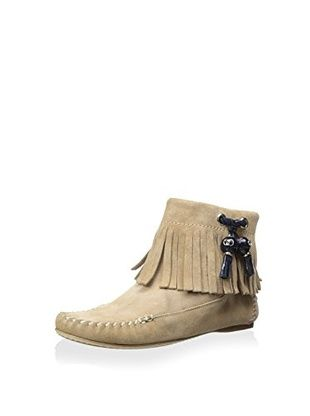 DIOR Women's Bootie with Fringe (Tan)