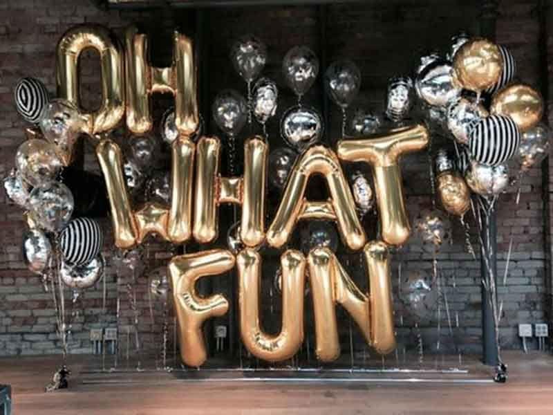 giant letter balloons giant letter balloons