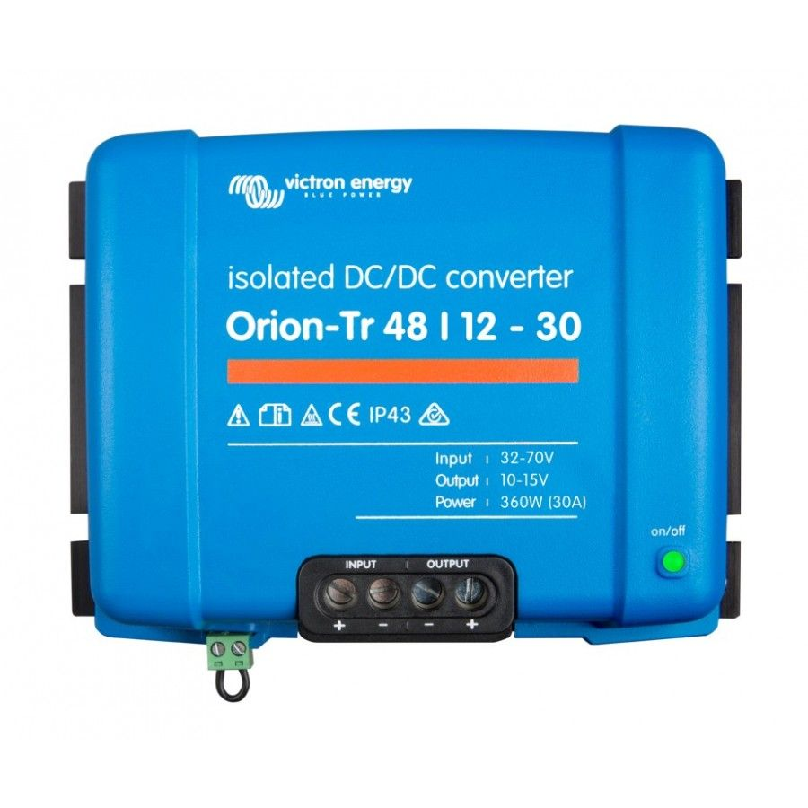 DCDC Converter Victron OrionTr 48/1230A (360W) in 2020