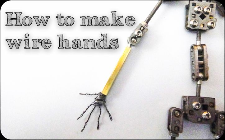 Stop Motion Tutorial How To Make A Wire Hand Stop Motion Stop