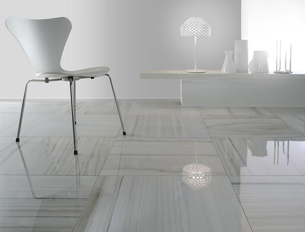 Piastrelle Moderne Per Interni classic_design propone un marmo lucido in gres porcellanato
