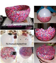 Dulcero de confeti