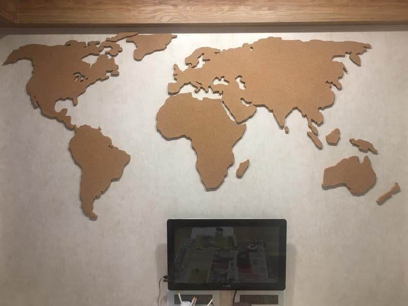 Laser Cut World Map.Laser Cut World Map Laser Cutting