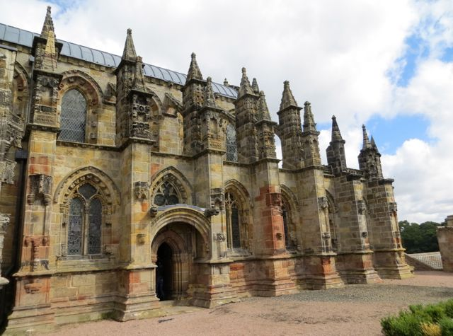 Rosslyn Chapel, Da Vinci Code Fame and Unsolved Mysteries