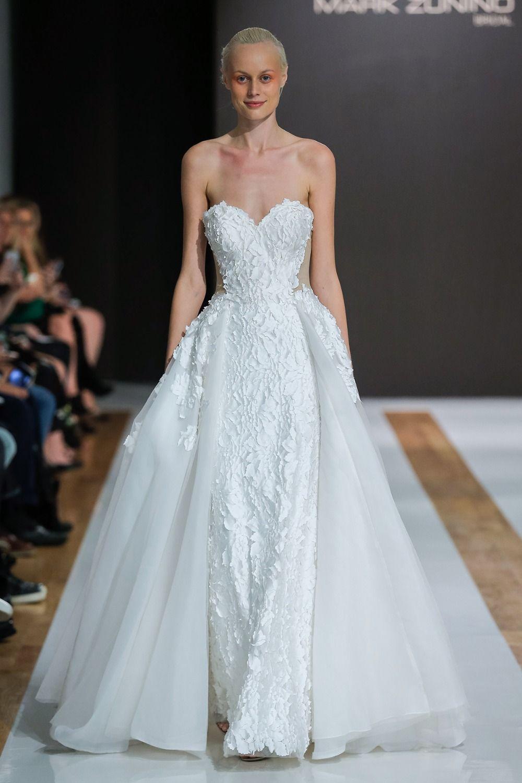 Celebrity designer mark zunino debut bridal collection wedding