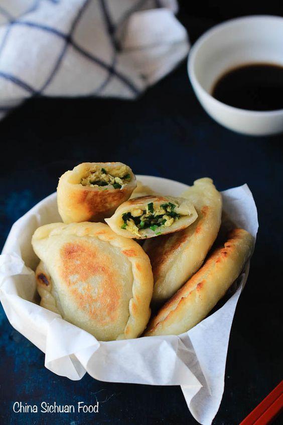 Chive pancake chinese chive pocket recipe pancakes dim sum chinese chive pancakesdumplings forumfinder Choice Image