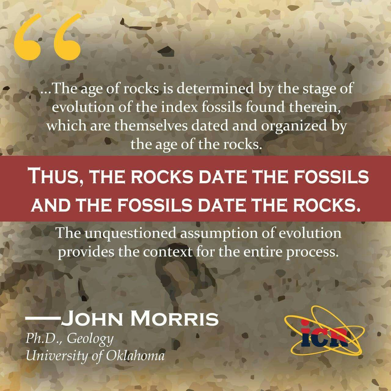 Image result for index fossils circular reasoning