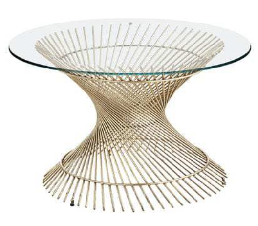 Orella Gold Spiral Coffee Table Base Pier 1 Imports