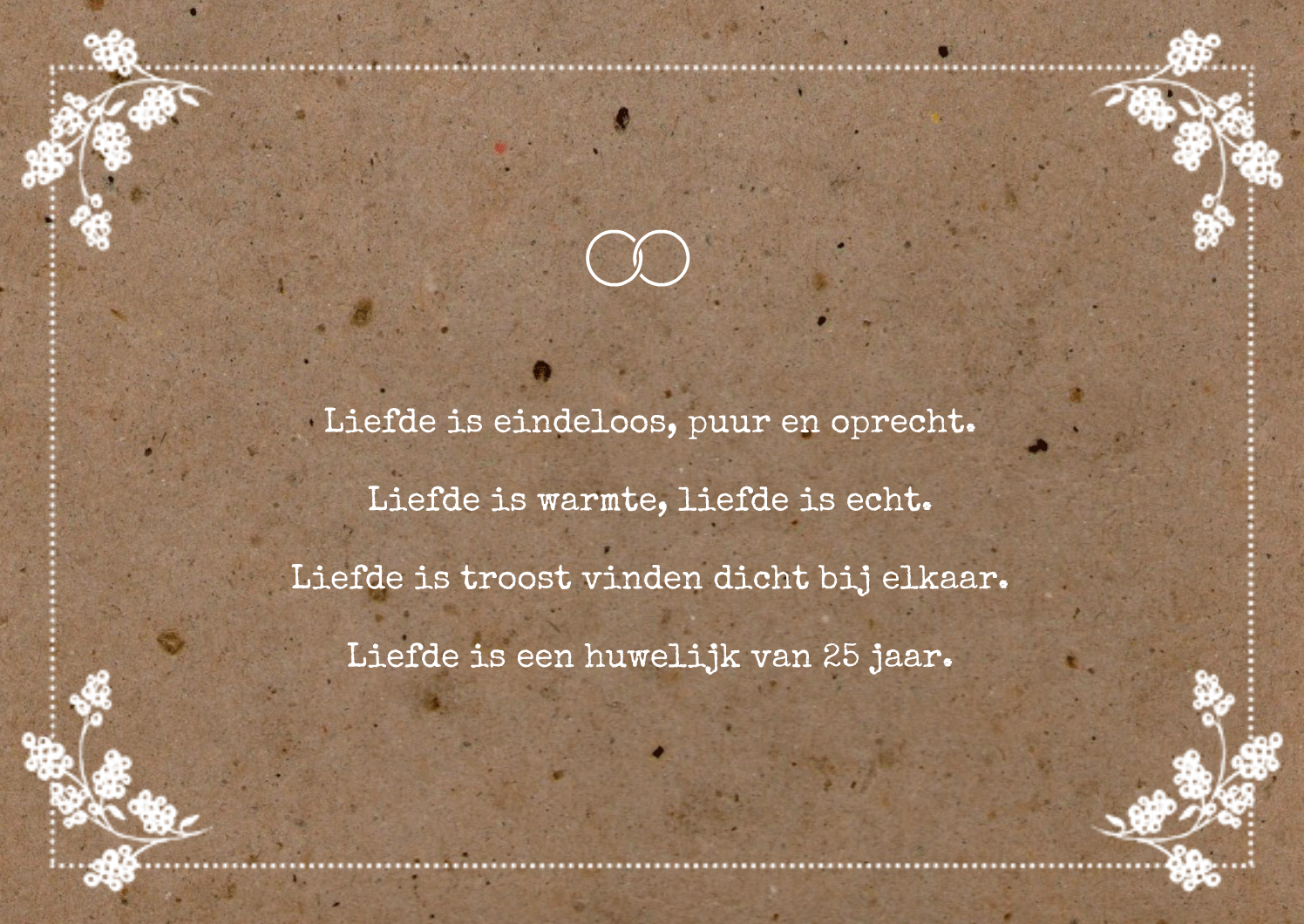 5 jarig huwelijk gedicht 25 Jaar Huwelijk Gedicht &NC93 – Aboriginaltourismontario 5 jarig huwelijk gedicht
