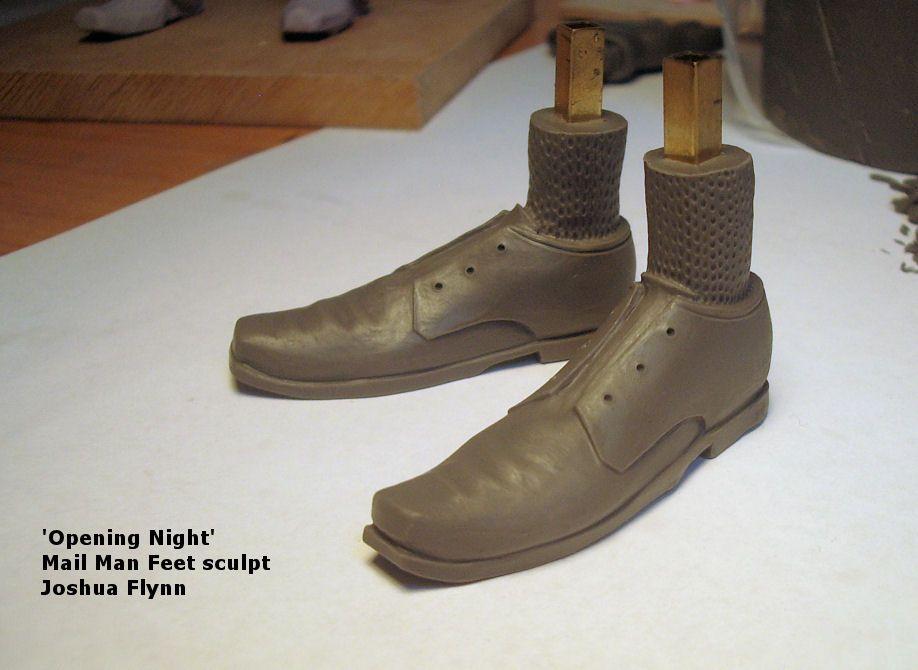 Joshua Flynn - Sculpting Puppet Feet 4