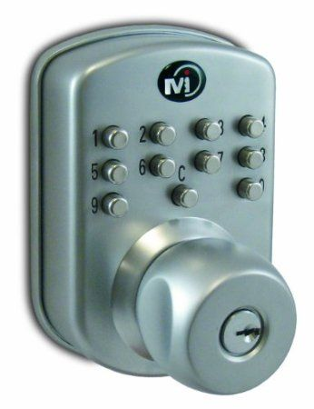 Mechanical Push Button Door Locks | Keyless Front Door Locks
