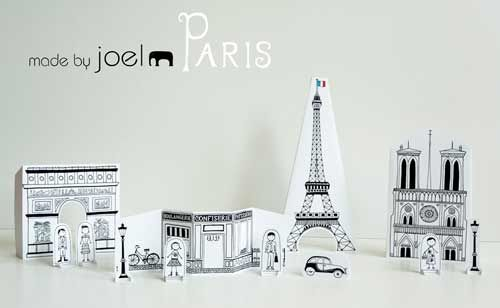 Imprimible: un París para jugar. Le va a encantar a K <3