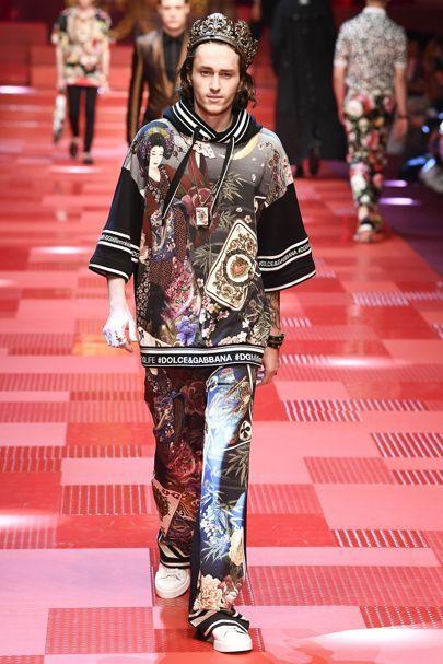 Dolce & Gabbana Spring/Summer 2018 Menswear | British Vogue