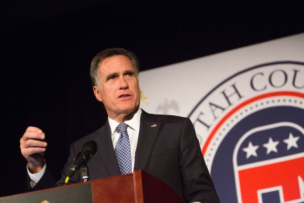 Romney attacks Trump, saying he causes dismay around the