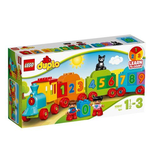Superb LEGO 10847 DUPLO Creative Play Number Train Now At Smyths ...