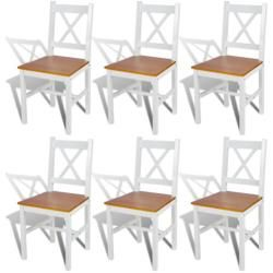 Esszimmerstuhl-Set aus Massivholz Dcor Design #woodfloortexture