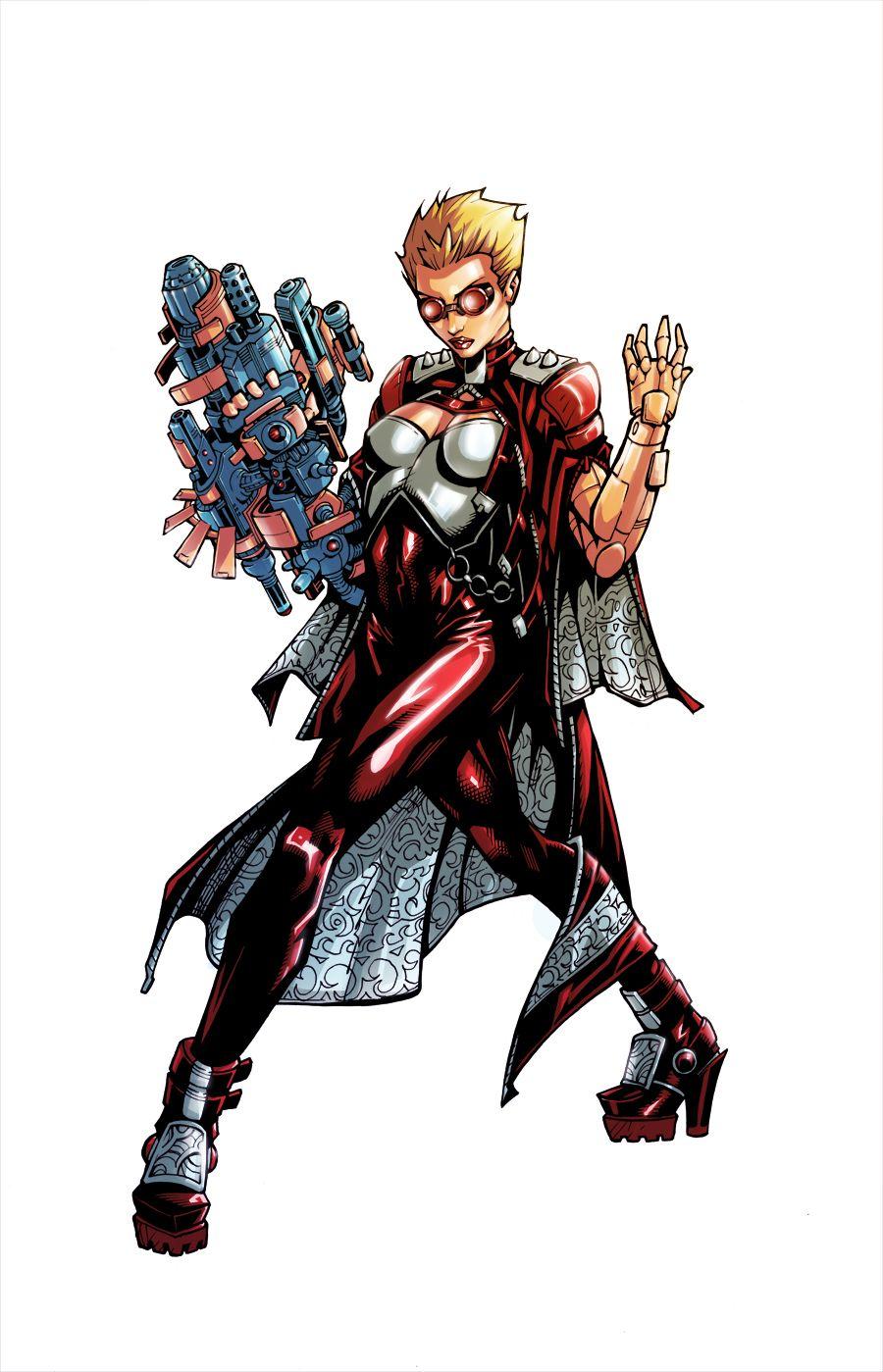 Vera Black Olivernome Deviantart Collection Dc Comics Superhero