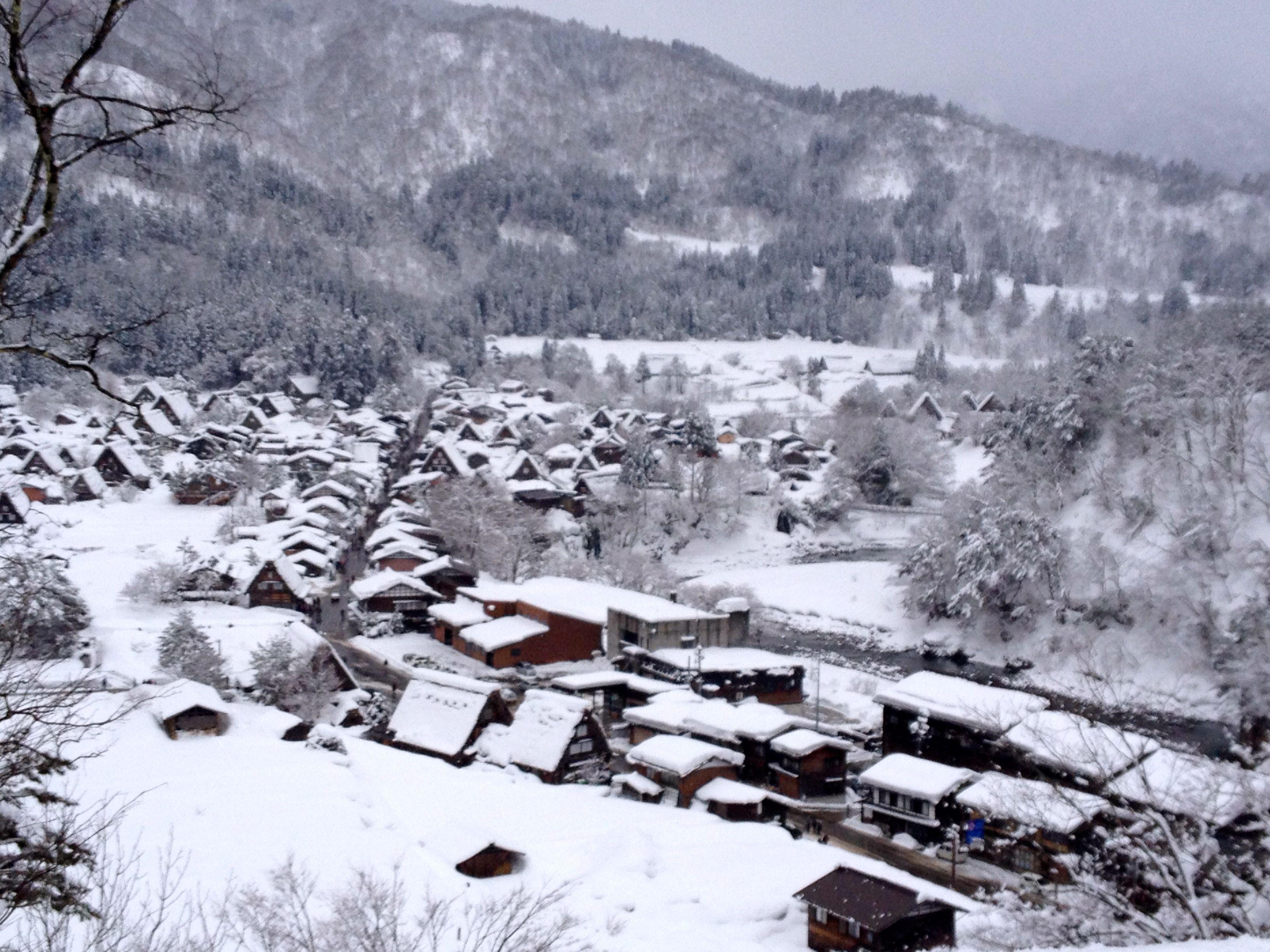 Shirakawa Go Japan During Winter This Town Is A Real