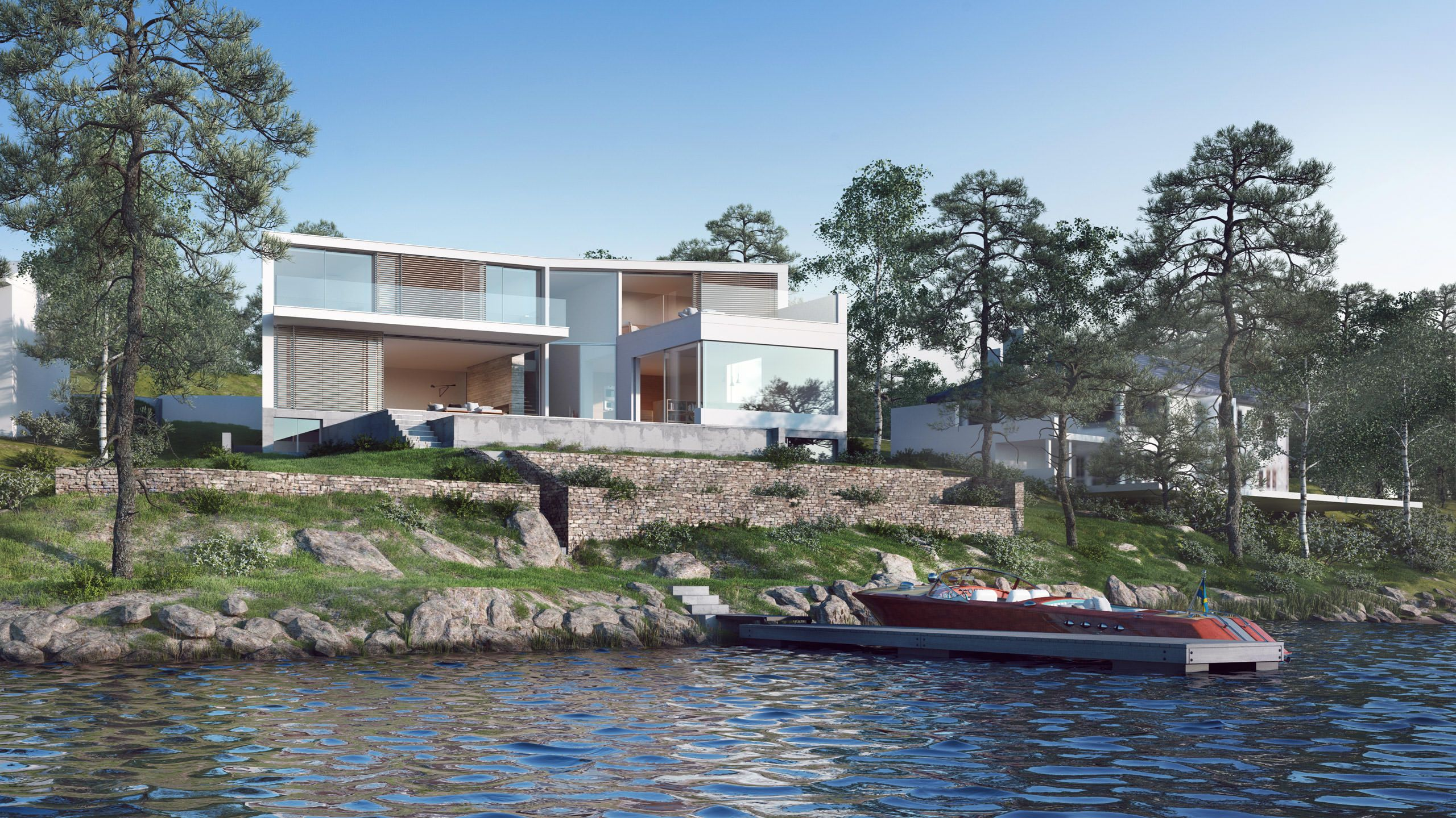 private house stockholm sweden strom architects arkitektur