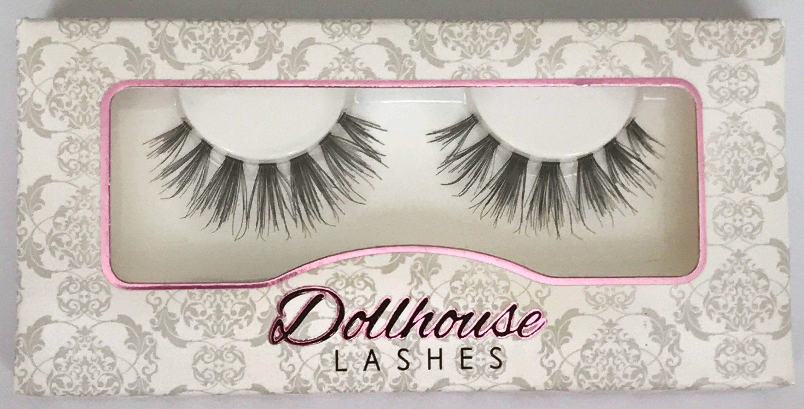 The Best Natural False Eyelashes Boss Lady Dollhouse Lashes
