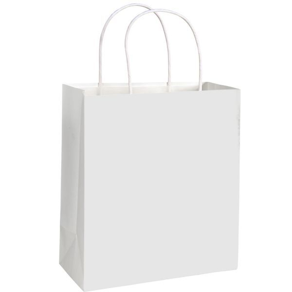 Download Medium White Paper Gift Bag Paper Gift Bags Paper Gifts Holiday Party Supplies