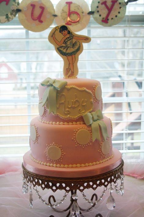 Admirable Rubys Ballerina Birthday Cake By Renay Zamora Sweetface Cakes Personalised Birthday Cards Xaembasilily Jamesorg