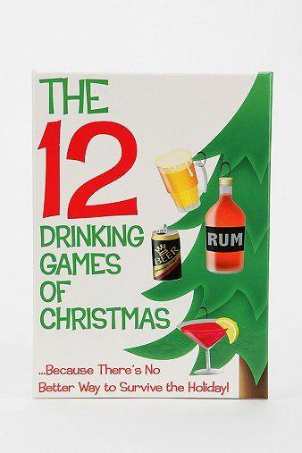 12 days of christmas drinking game - 12 Drinks Of Christmas