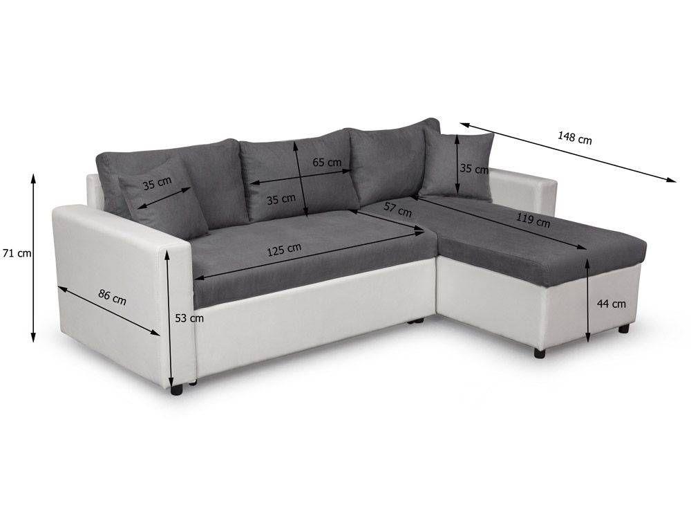 Canape D Angle Avec Coffre Canape D Angle Reversible Et Convertible Avec Coffre Gris Canape D Angle Avec Coffre Canape D Angle In 2020 Sectional Couch Home Home Decor
