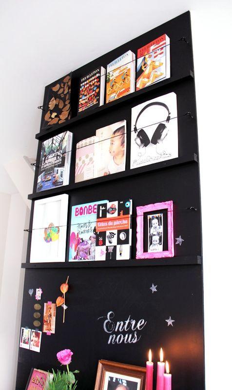 Bricolage maison habiller un mur de ses livres pr f r s for Habiller un encadrement de porte