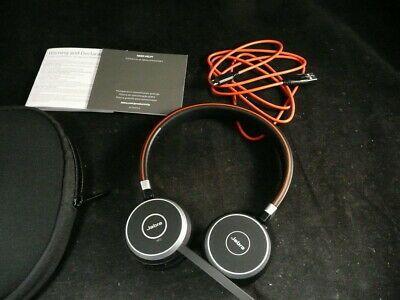 Ad Ebay Link Jabra Evolve 65 Stero Headphones In 2020 Headphones Wireless Headset Music Headphones