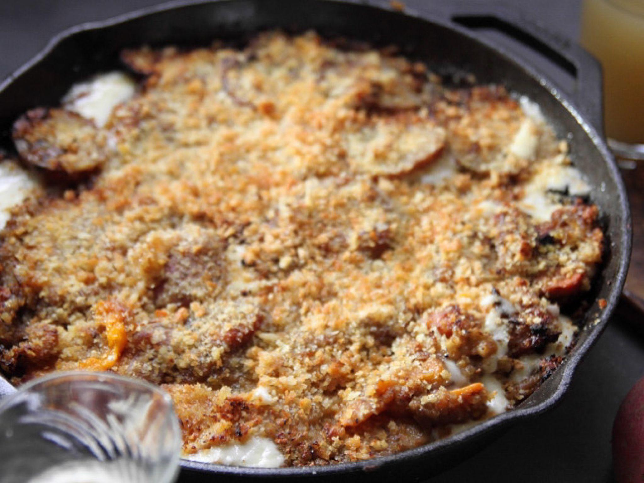 Scalloped Vegetable Casserole #farmhouserulesrecipes