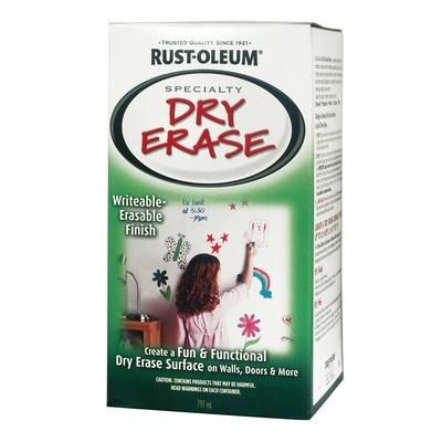 Rust Oleum Dry Erase Paint Home Depot
