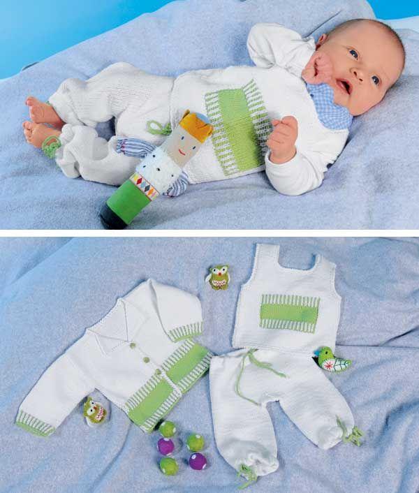 Комплект для новорожденного вязание схема и описание 232