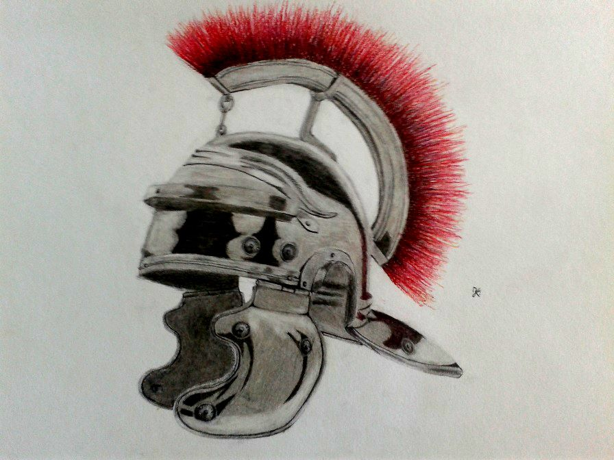 Hades Helm Of Darkness Drawing