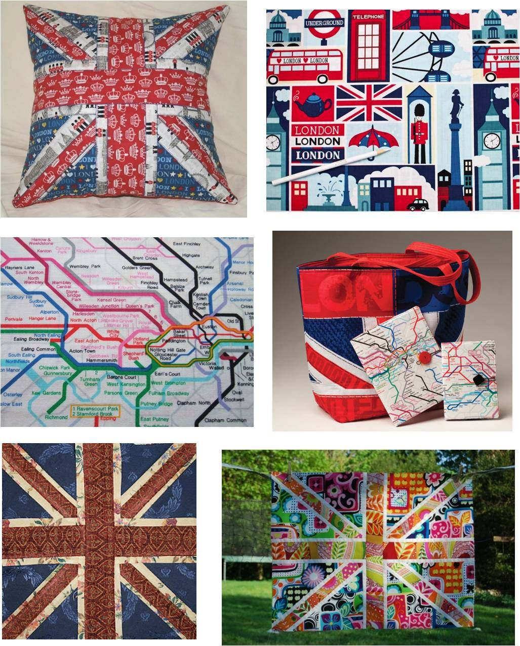 Quilt Inspiration: Free Pattern Day: Union Jack | Quilts-And all ... : quilt inspiration free patterns - Adamdwight.com