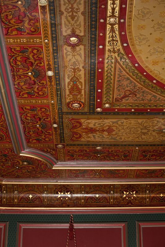 Dining Room Ceiling Holmes Hall Pittsburgh Victorian Rooms Victorian Interiors Victorian Decor