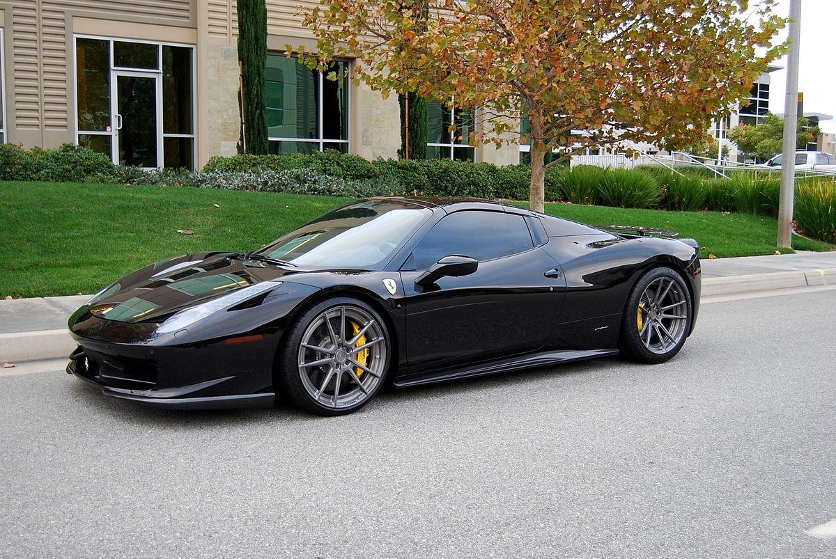 Novitec Rosso Ferrari 458 Spider Auto Body Repair Shops Luxury Cars Ferrari