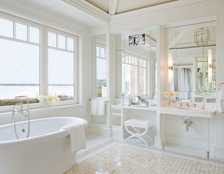 65 Elegant Master Bathroom Design Ideas For Amazing Homes Master Bathroom Design Bathroom Interior Bathroom Design