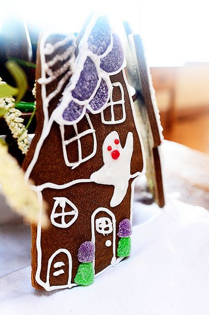 Haunted House Cookies