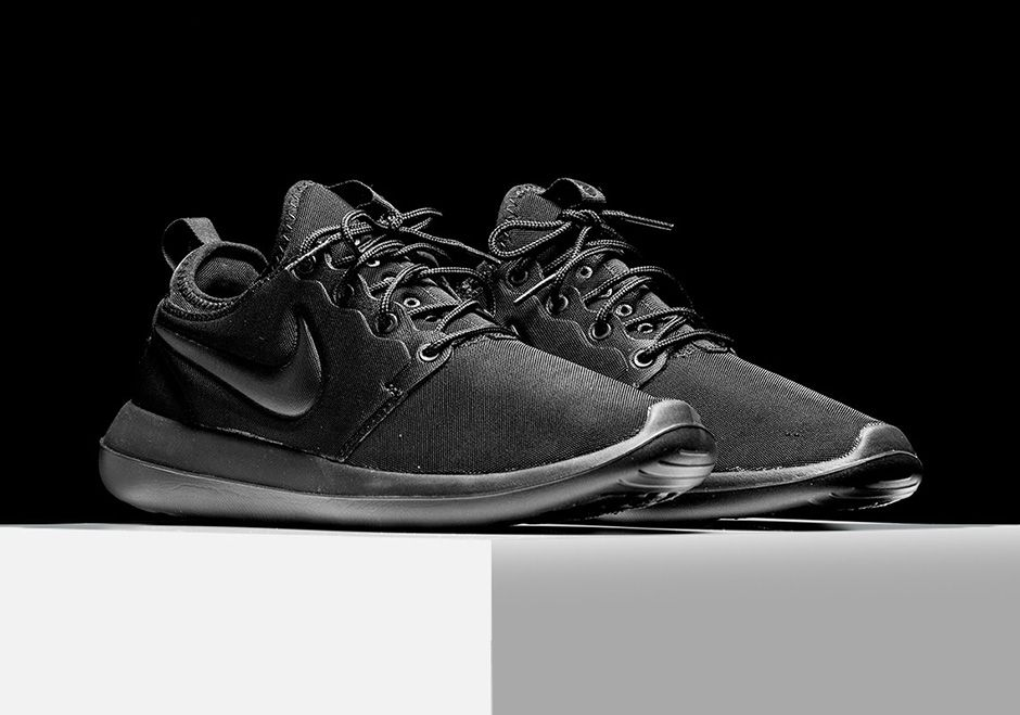 The Nike Roshe Two Will Be Releasing In Triple Black