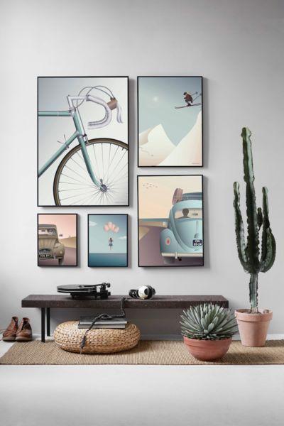 Come disporre i quadri in un ambiente contemporaneo? Copia ...